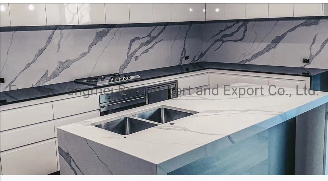 China Polished White Yellow Brown Black Grey Blue Red Pink Solid Surface Countertop Quartz Stone Marble Granite Slab China Countertop Top Countertop Material