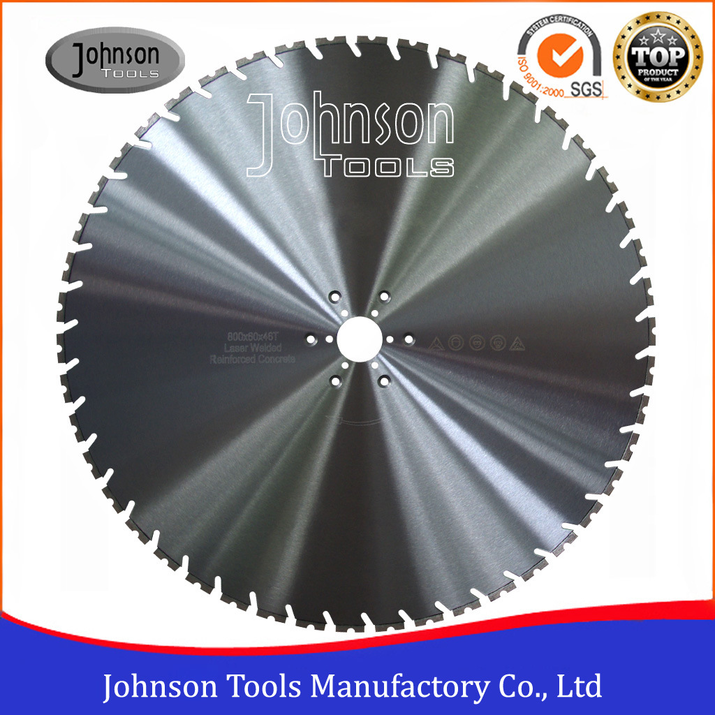 800mm Wall Diamond Cutting Saw Blade for Reinforced Concrete Cutting pictures & photos