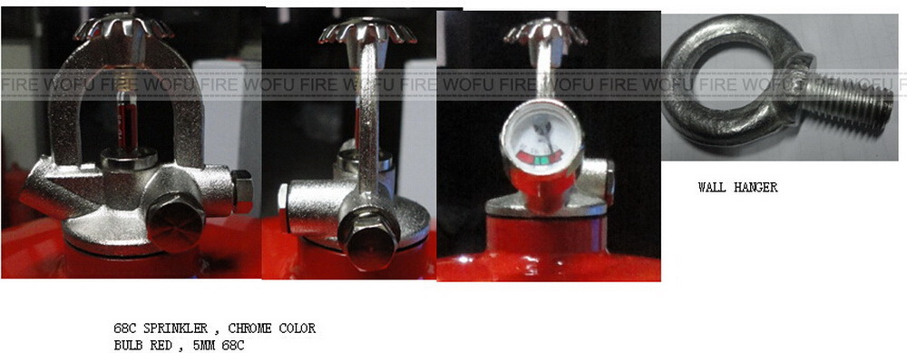Burden Type Pressure Gauge Use for Fire Extinguisher pictures & photos