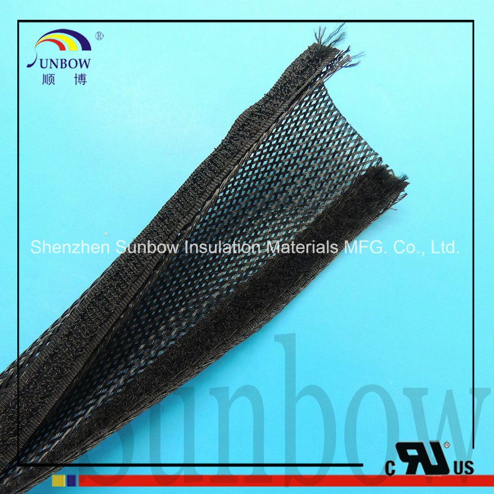 Cable Sleeve Flexible Braided Sleeving Split