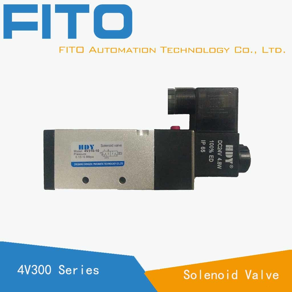 [Hot Item] 100% Tested Quality 3/2 Solenoid Valve/Pneumatic Valve Solenoid  Operated