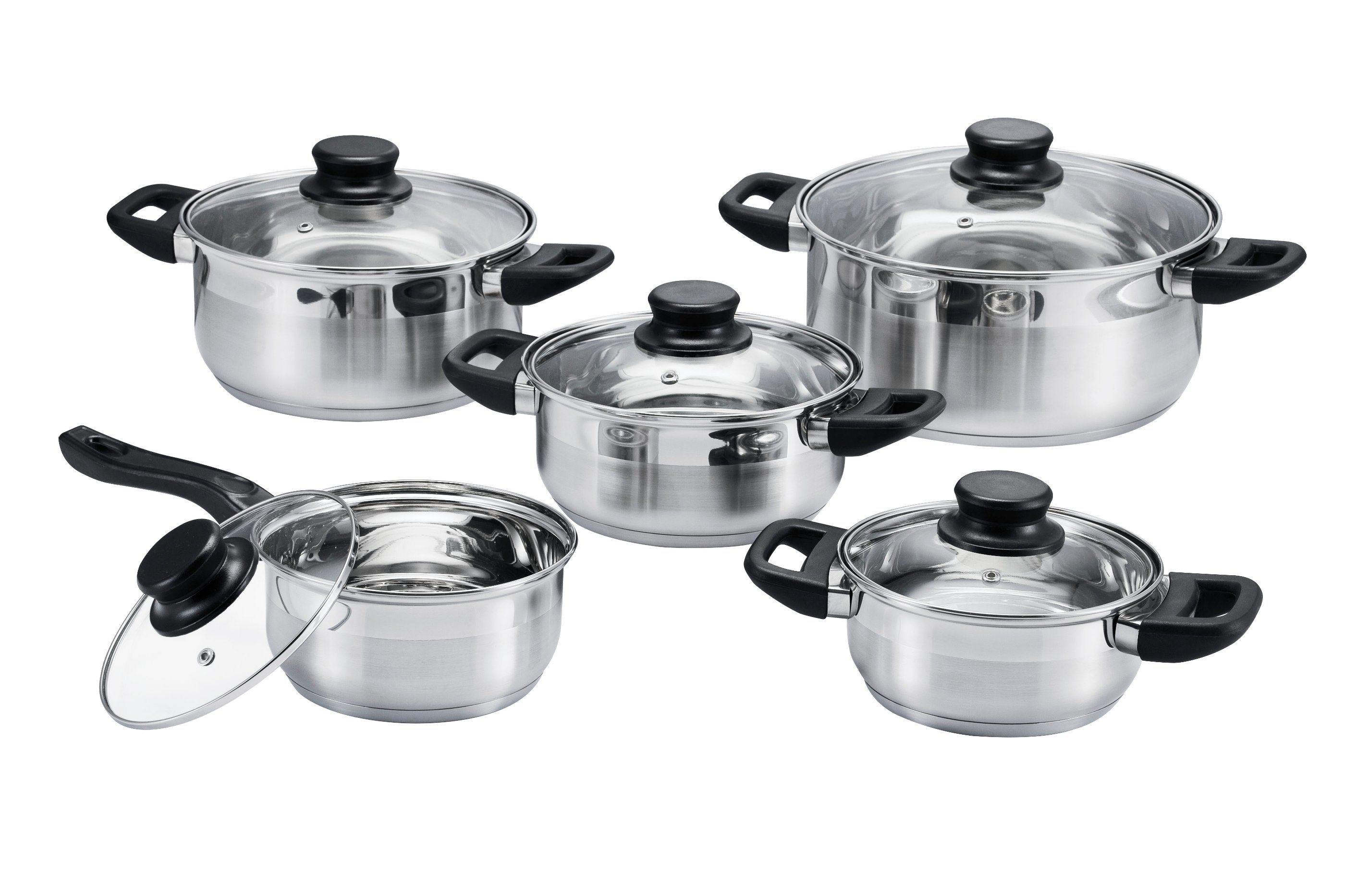 10 PCS Bakelite Suit Cookware Set