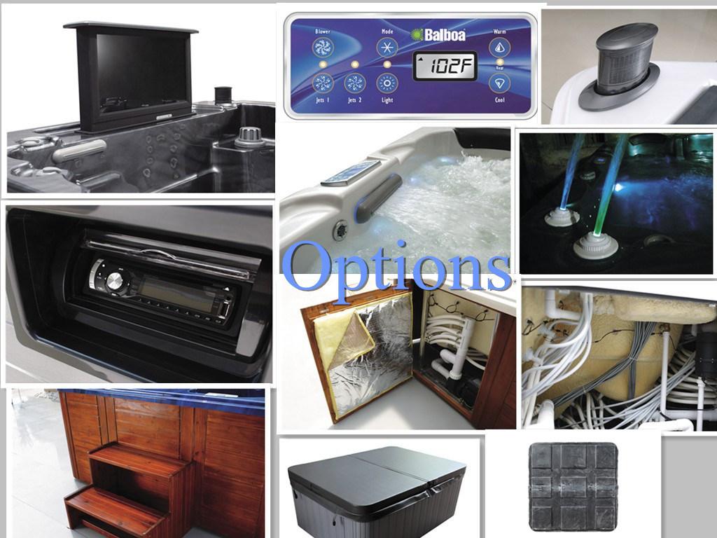 China Rectangle Luxury SPA Rectangle Hot Tub Home Whirlpool SPA ...