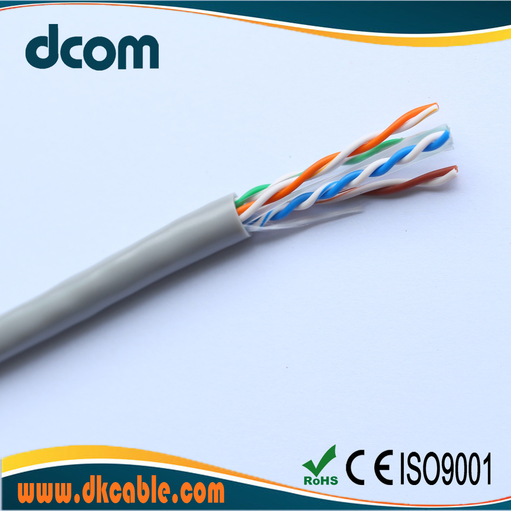 China Factory Wholesale High Quality Networking Cable Cat6 Utp Ethernet Wiring Copper Cca Cables Data