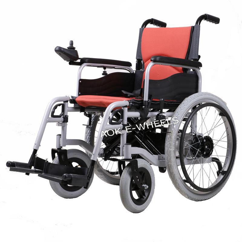 Image of: Chairs China Folding Electric Wheelchair For Disabled Or Old People pw005 China Electric Wheelchair Disabled Scooter Ningbo Aok Trading Co Ltd China Folding Electric Wheelchair For Disabled Or Old People pw005