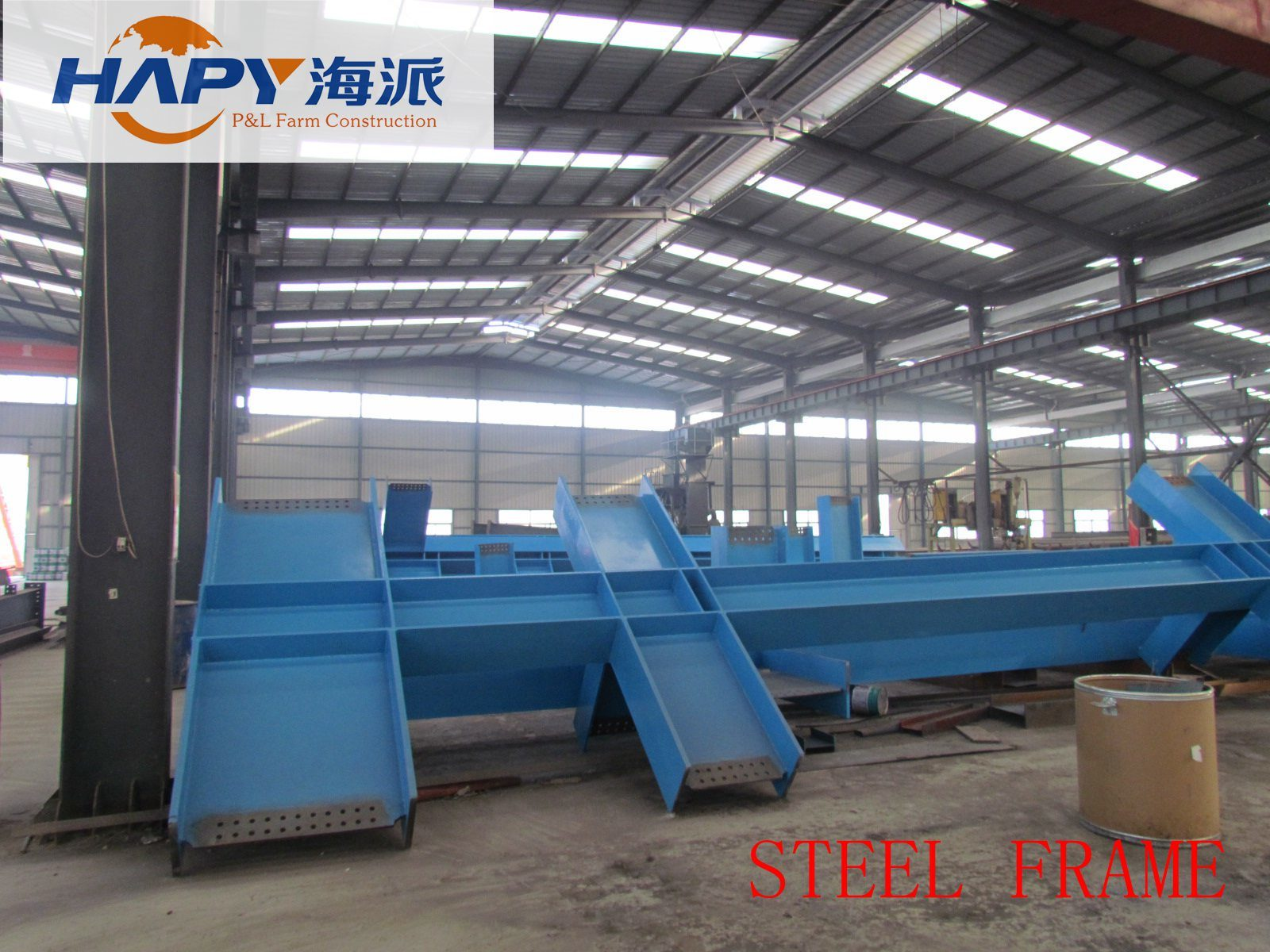 Steel Structure in Farm with Full Set Poultry Equipment pictures & photos