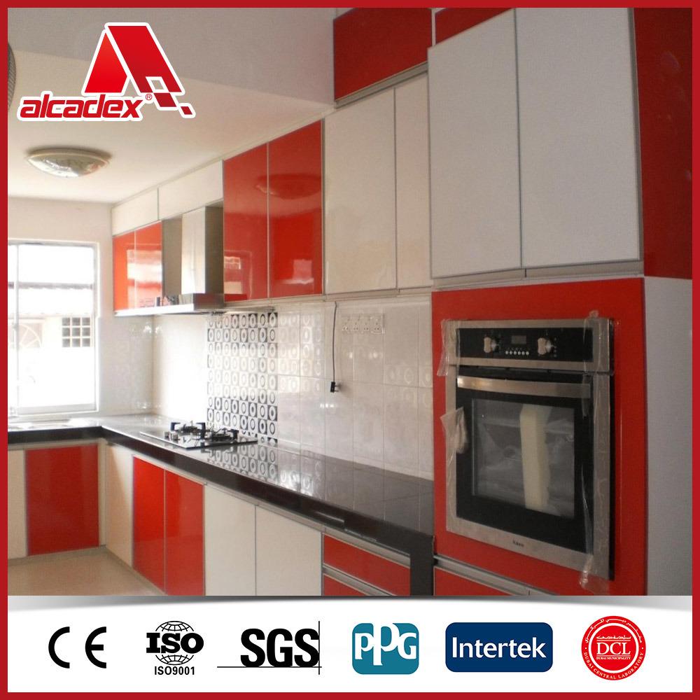 China Aluminium Composite Panel ACP For Kitchen Cabinets