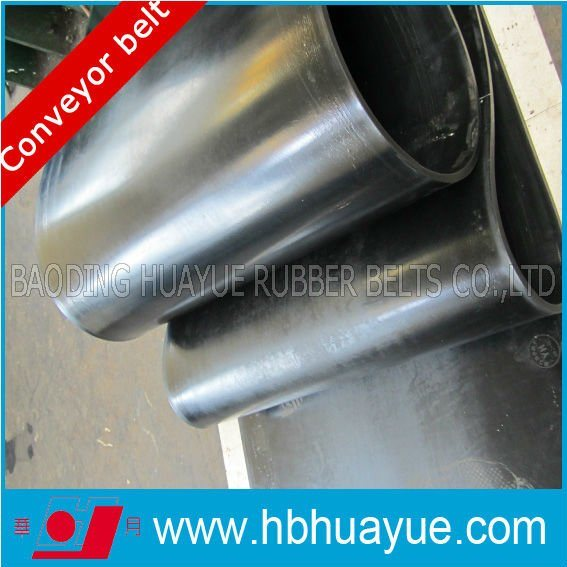 Quality Assured 800s Flame Resistant Rubber Conveyor Belt System Width400-2200mm pictures & photos
