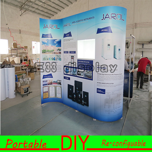 Fabric Exhibition Stand Goals : China easy set up reusable fabric exhibition display trade show