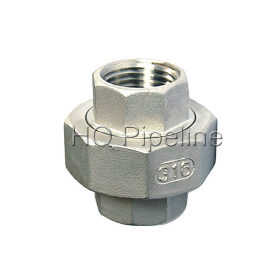 "1//8/"" 2/"" Female x Female Threaded Pipe Fitting Stainless Steel SS304 NPT BE"