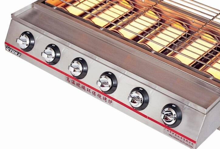Luxury Six-Burner Environmental Roaster (Gas) ET-K23