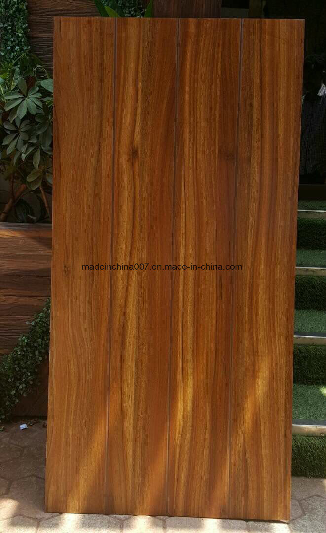 Hot Item Non Asbestos Wood Grain Cement Exterior And Interior Wood Wall Cladding