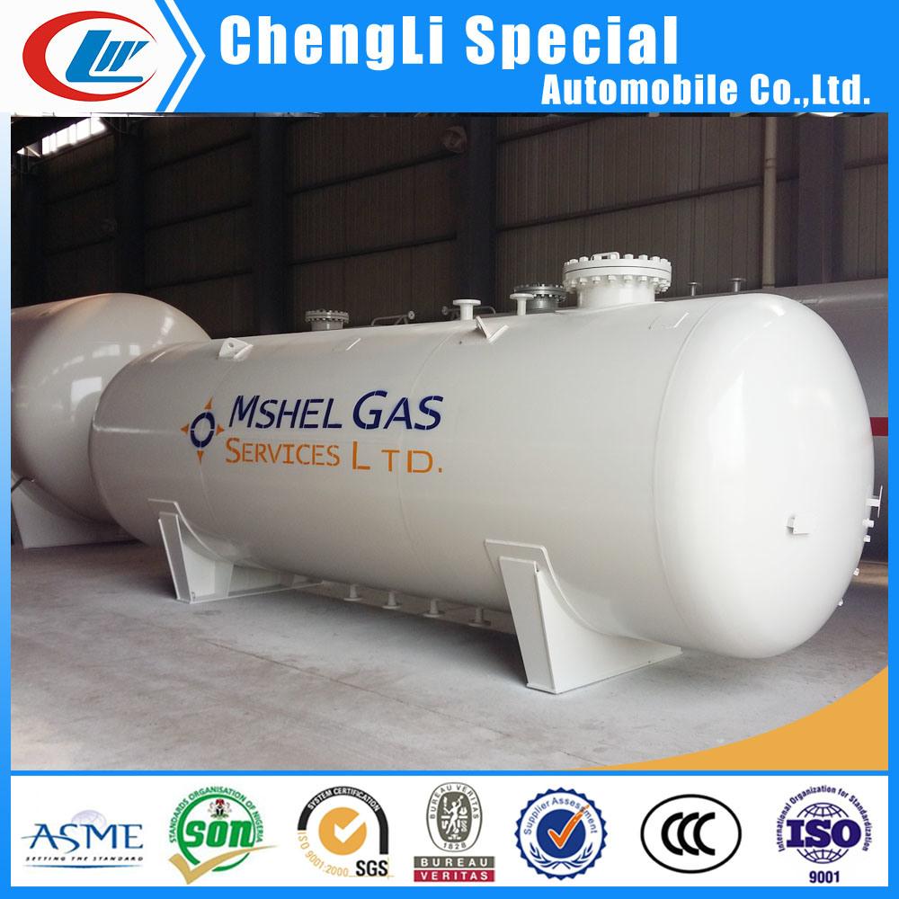 China 20000L 20cbm Q345r Horizontal Gas Station 10mt LPG ...