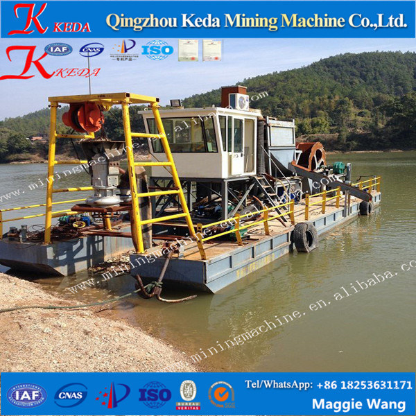 [Hot Item] High Efficiency Submersible Sand Pumping Dredger in River