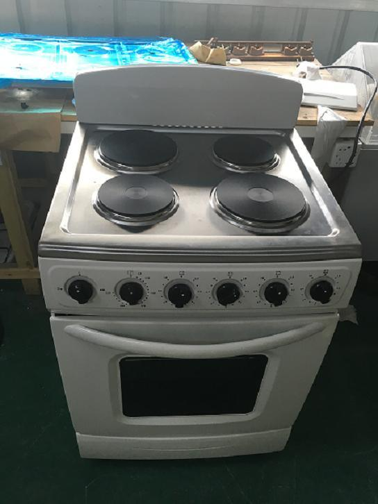 Electric 4 Burner Hot Plate with Electric Oven