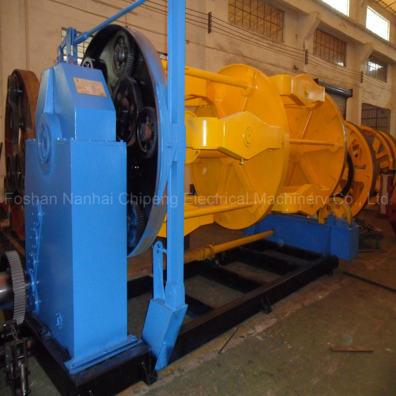 China Steel Wire Rope Spooling Machine - China Wire Rope Spooling ...