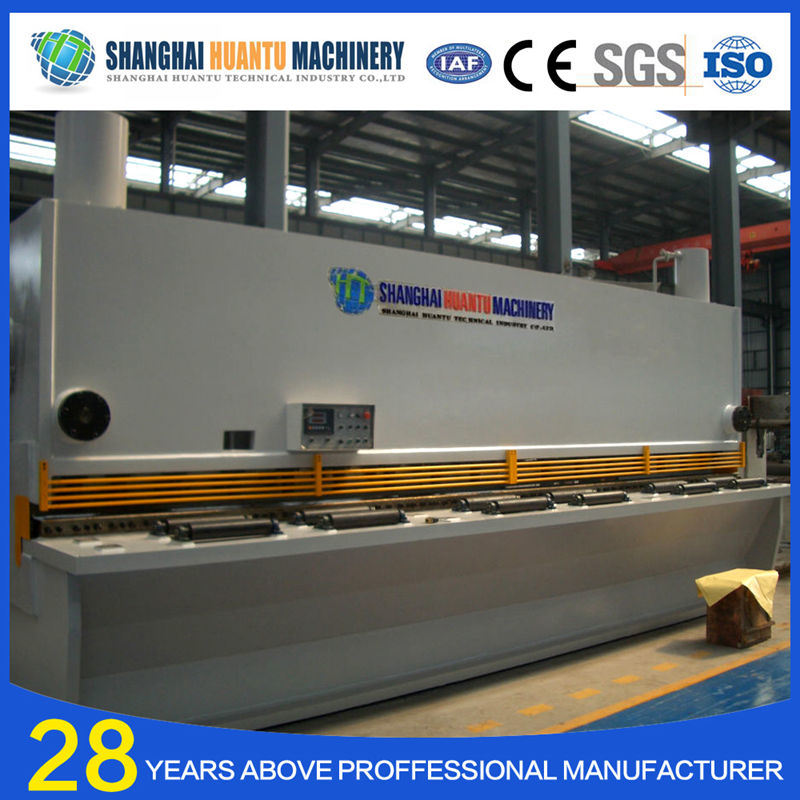 Aluminium Cutting Machine Sheet Metal Guillotine Steel Plate Cutter pictures & photos