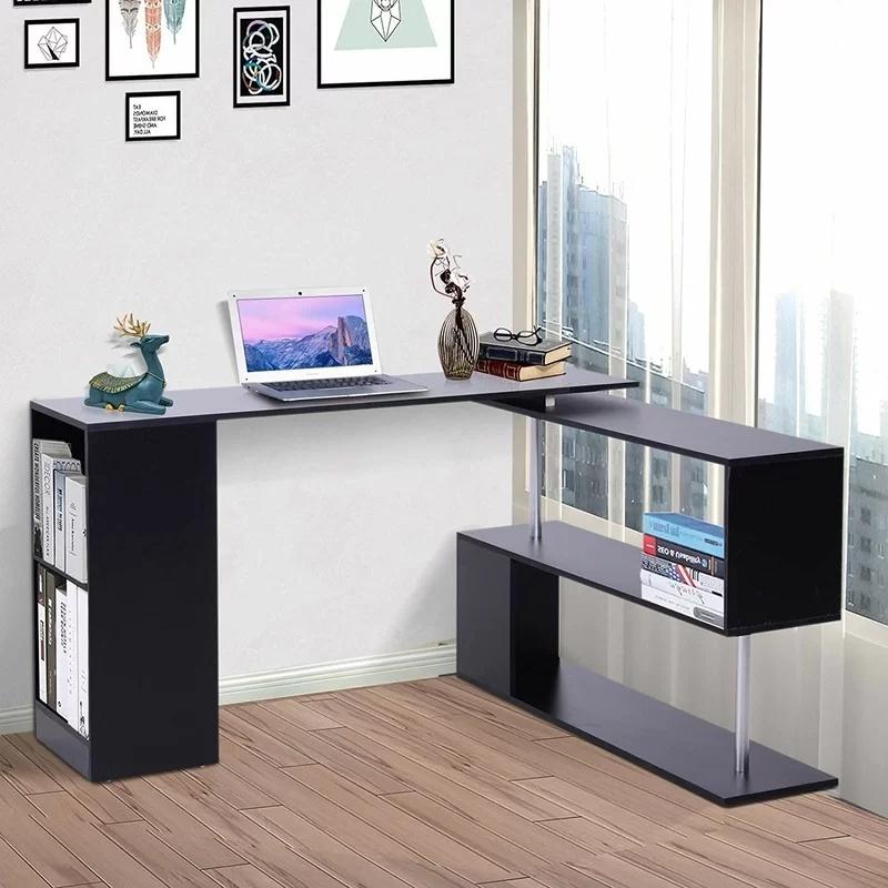 L Shape Laptop Computer Desk