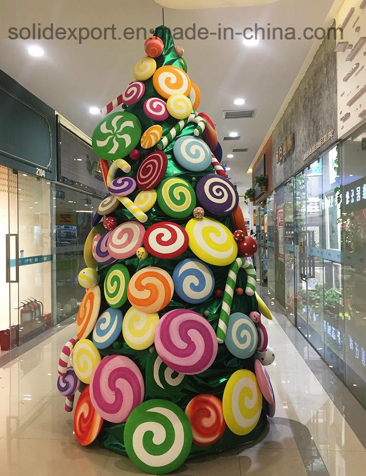 China Large Candy Christmas Tree Package 3 Meters Beautiful