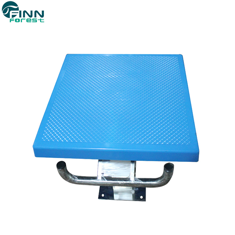 [Hot Item] Swimming Pool Products One Step Stainless Steel Starting Blocks