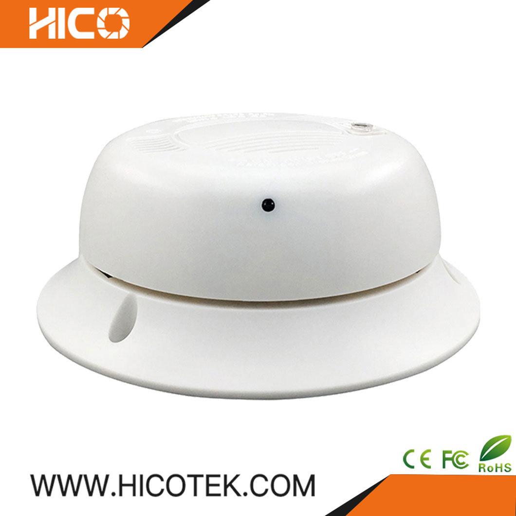 China 1080p Alibaba Style Smoke Detector Two Way Audio Pinhole