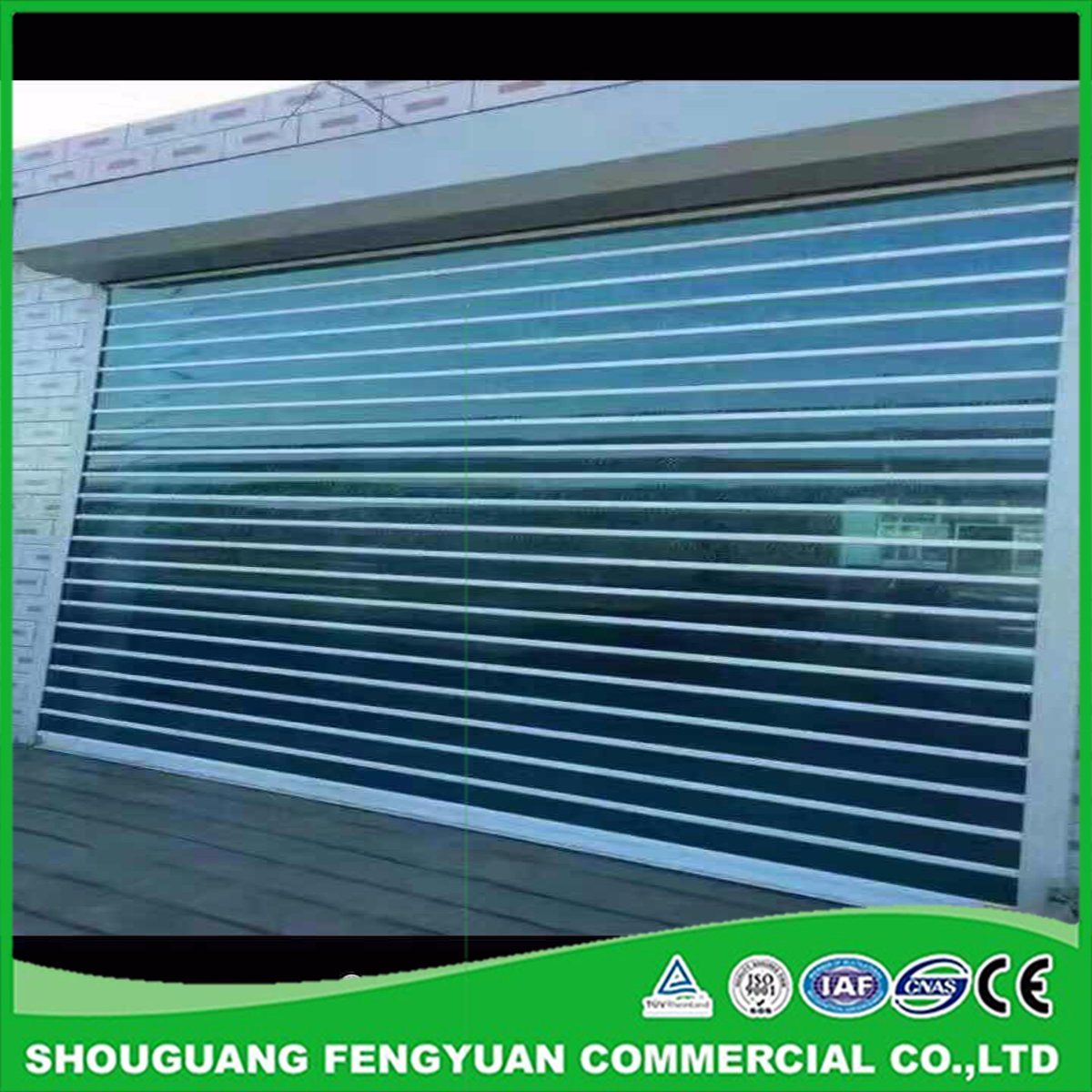 Hot Item Residential European Security Roller Shutters From China Manufacture