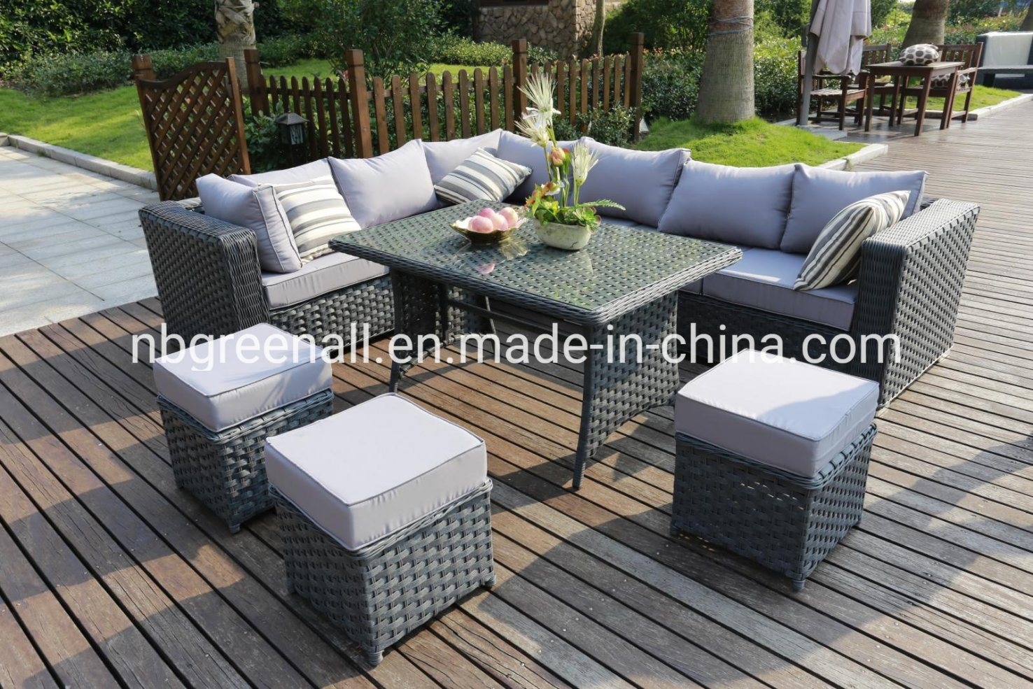 Mix Modern Outdoor Rattan Wicker Sofa