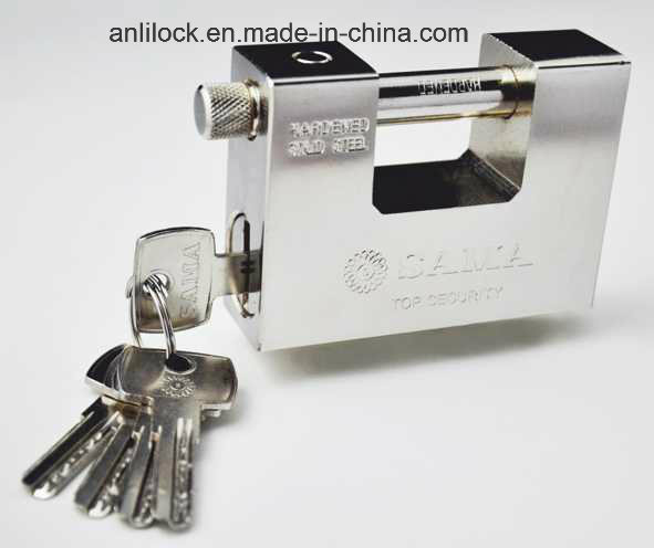Armoured Lock, Ske Golden Color Inside Lock, Steel Padlock Al-92 pictures & photos