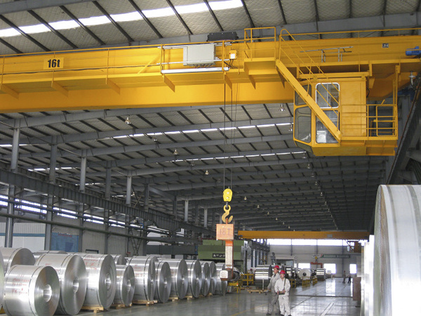 10ton 20ton Double Girder Electric Hoist Travelling Overhead Crane