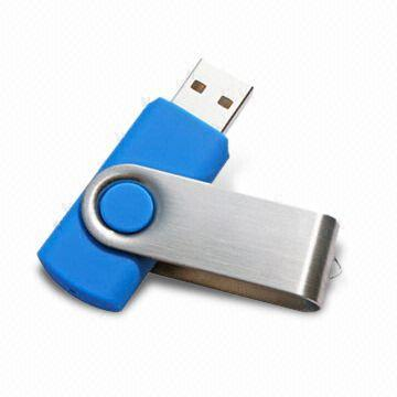 Promotional Swivel USB Flash Drive, 2g Twist Pen Drive USB Flash Drive,