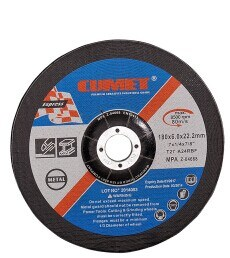 Depressed Centre Grinding Wheels for Metal (180X6.0X22.2mm) Abrasive with MPa Certificates