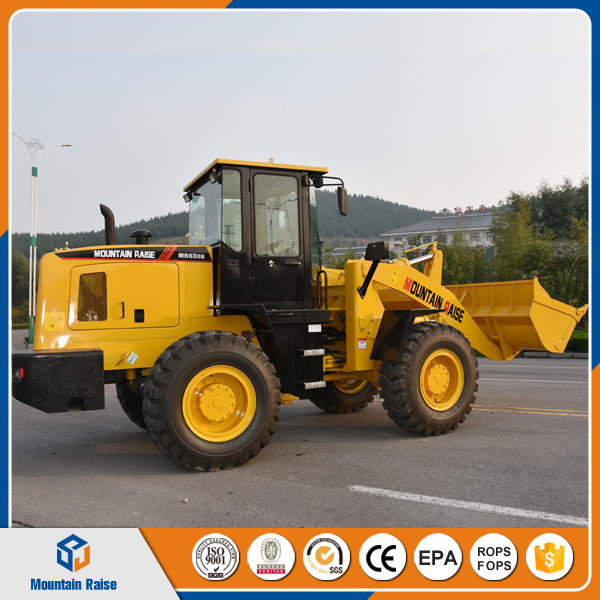 Earthmoving Equipment 836 Compact 3ton Wheel Loader Zl30 pictures & photos