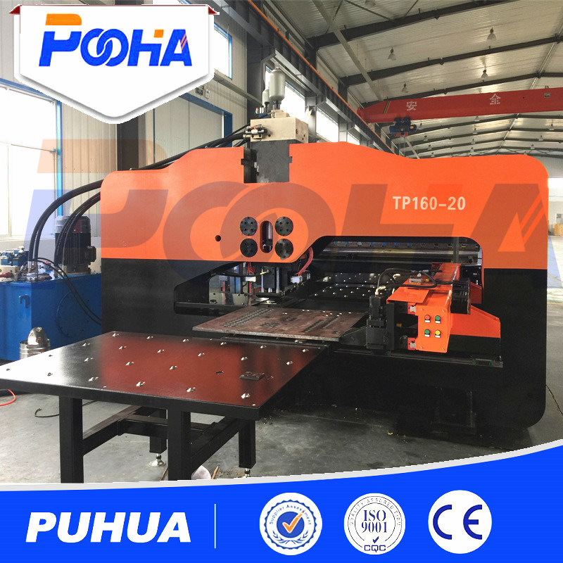 Heavy Steel Plate Hydraulic CNC Punching Machine Price pictures & photos