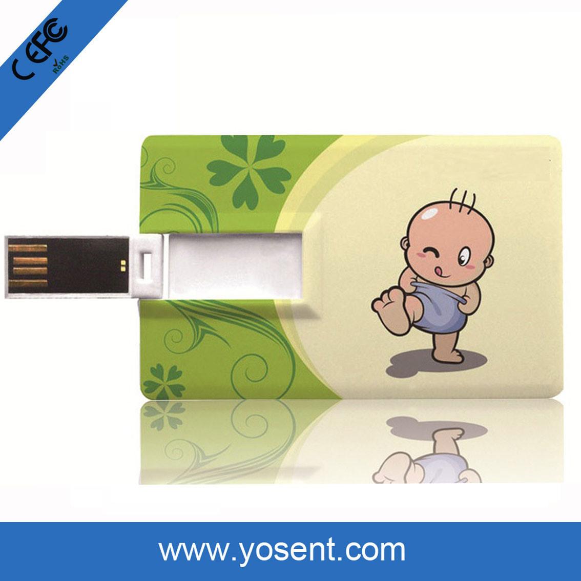 China Credit / Business Card USB Flash Drives, Black Color Card USB ...