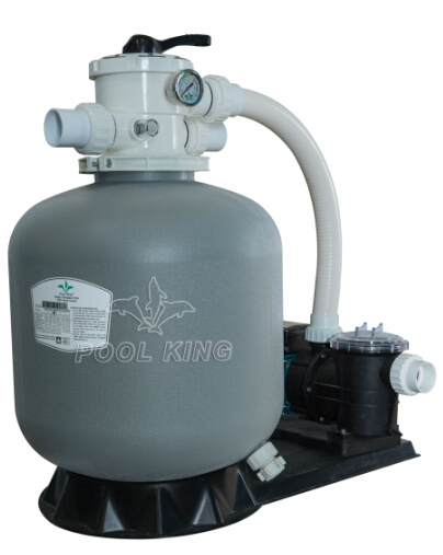 Plastic Filter with Pump Combo for Swimming Pool