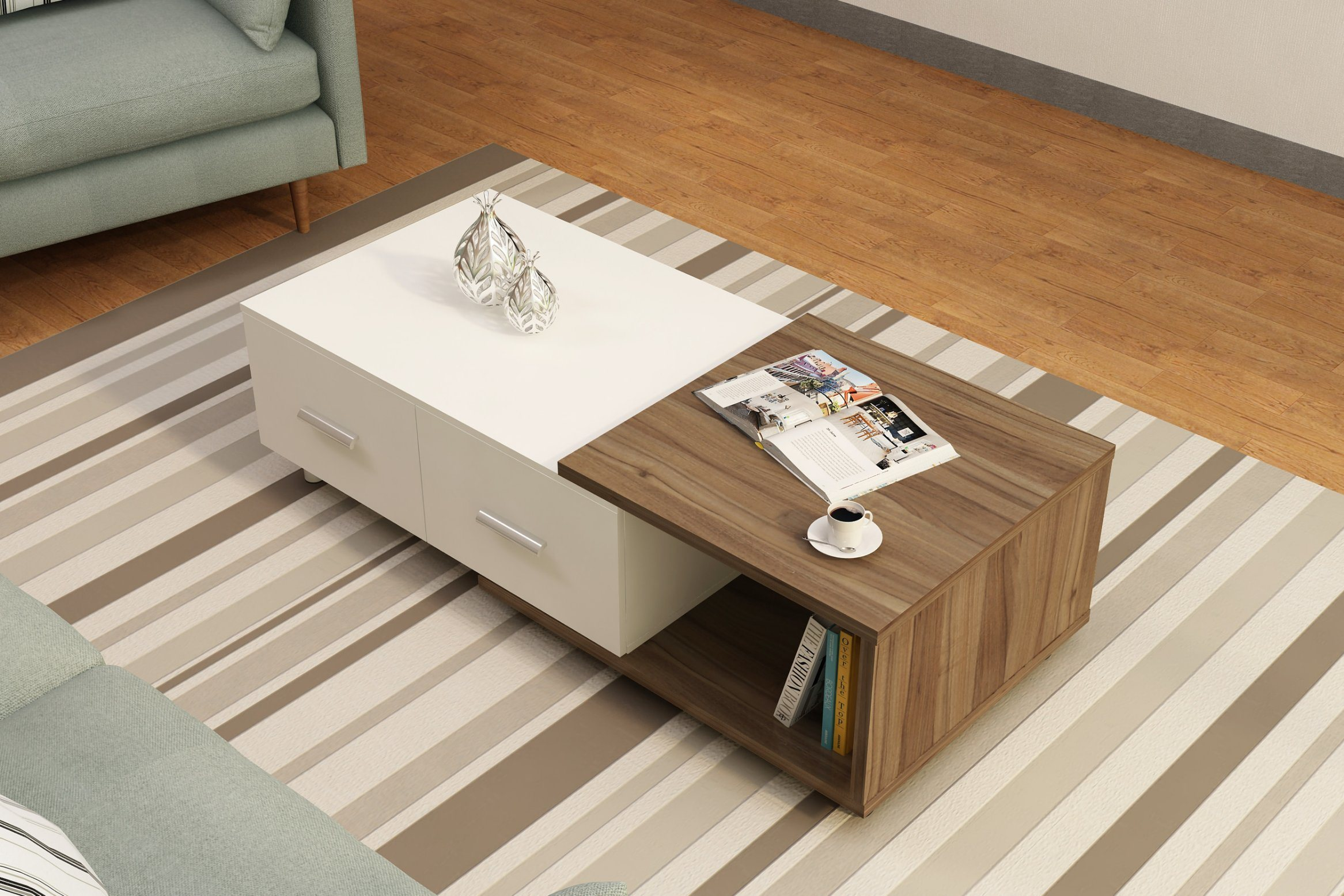 China modern living room furniture design popular coffee table end tea table china coffee table tea table