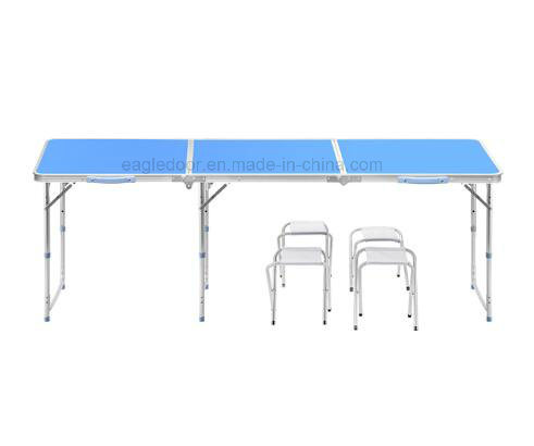 Portable Folding Table W/Dry Erase Surface U0026 Markers   Adjustable Length (8  FT Or 4 FT) Adjustable Height (Kid Size U0026 Standard Size) Party Table
