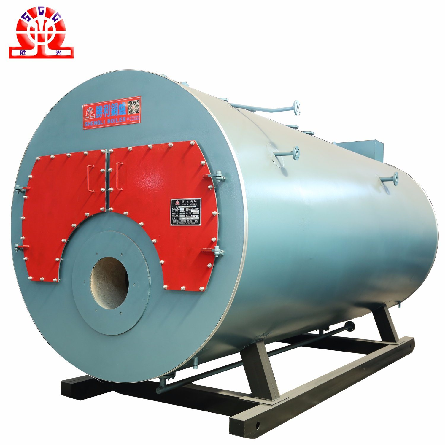 China Central Combustion 4ton Gas Oil Fired Combi Boiler - China Gas ...