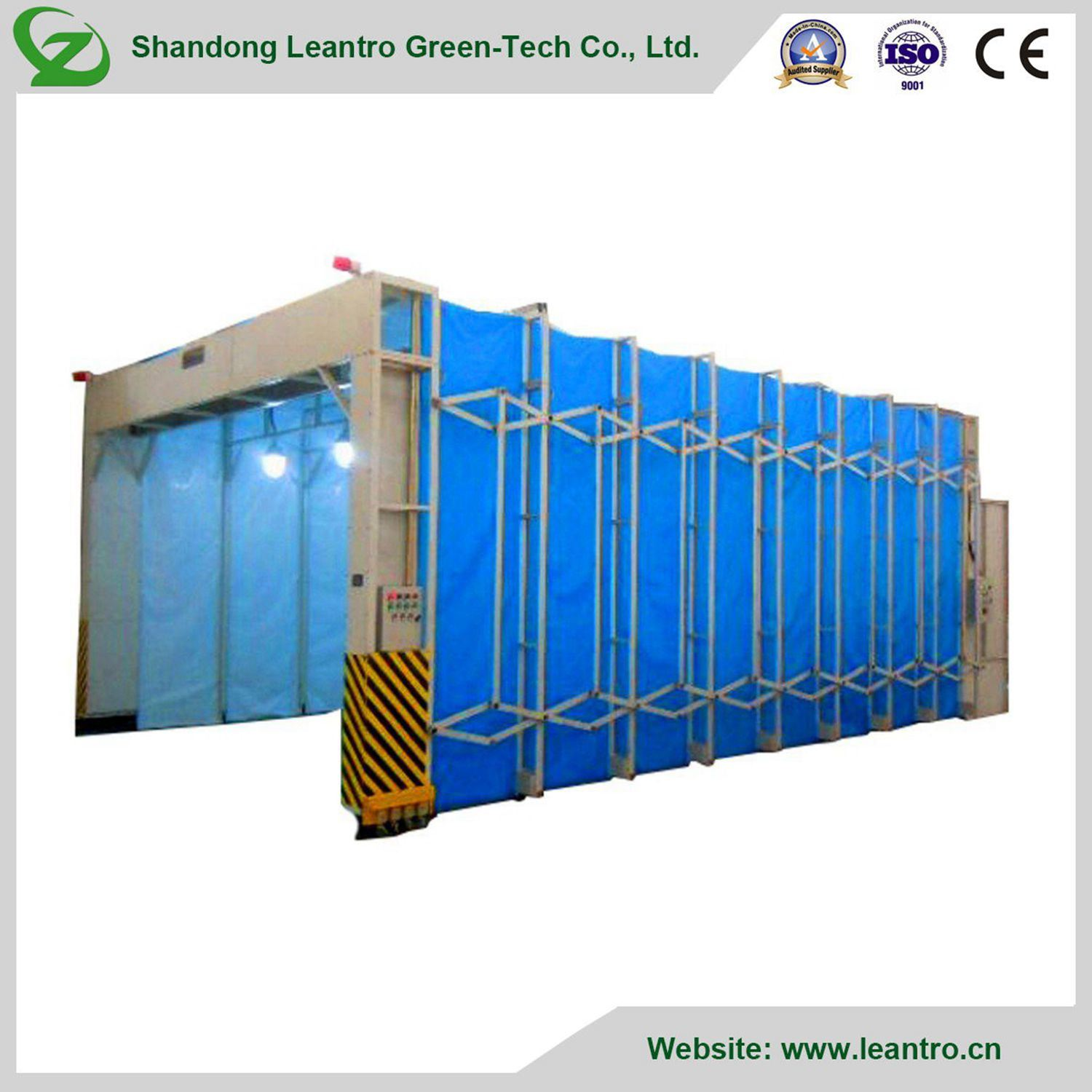 Industrial Folded Paint Booth for Difficult Movable Machine (ZC-MPB8000) pictures & photos