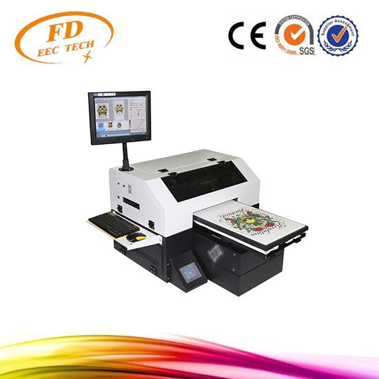 4b1a1d98 Factory Price T-Shirt Printing Machine A3 Small Format Direct Printing  Printer -Dgt T-Shirt Printer