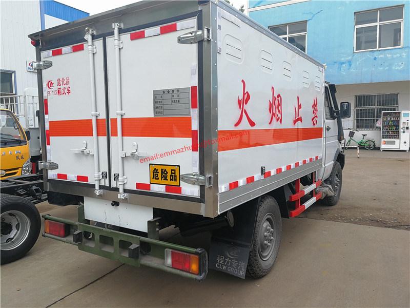 China Iveco 4x4 Blasting Equipment Transporter Van Truck