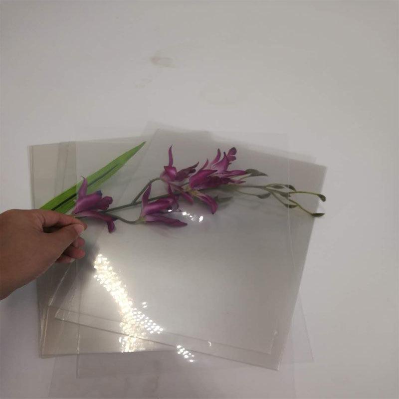 [Hot Item] 0 17mm Ultra-Thin Transparent Polyethylene Terepthalate Pet  Plastic Film for Printing
