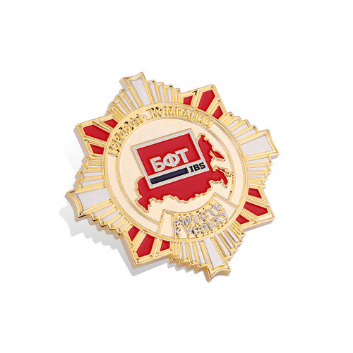 Brass Souvenir Gift and Soft Enamel Badge (GZHY-FFL-003) pictures & photos