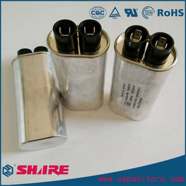 China Ch85 High Voltage Capacitor With Diode For Microwave Oven