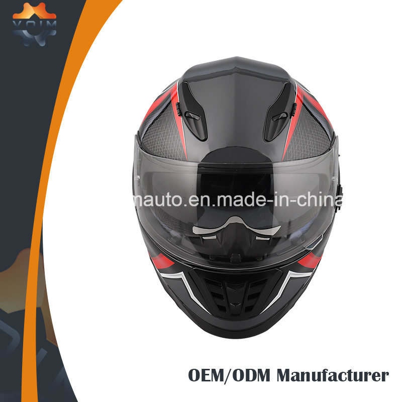 e1ddf26a China Discount Moto Racing Helmen with Double Visors Anti-Fog Motorcycle  Helmet - China Motorcycle Helmet, Safety Helmet