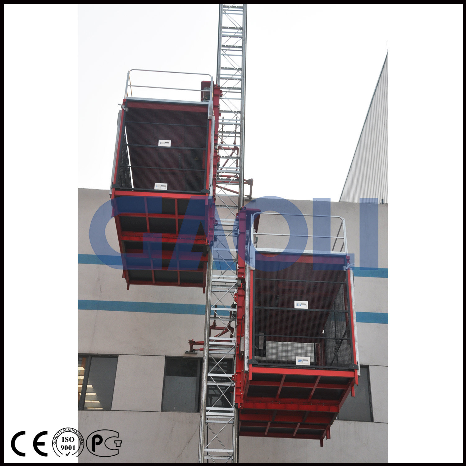 Rack and Pinion Construction Building Equipment/Hoist/Lift