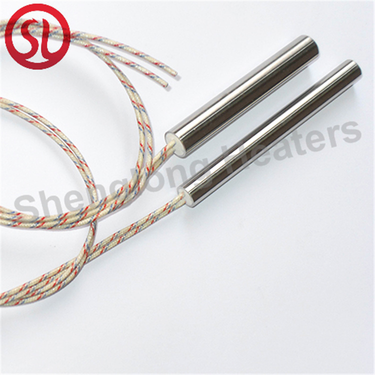 Small Diameter Stainless Steel Industrial Cartridge Heater Electric Heating Element