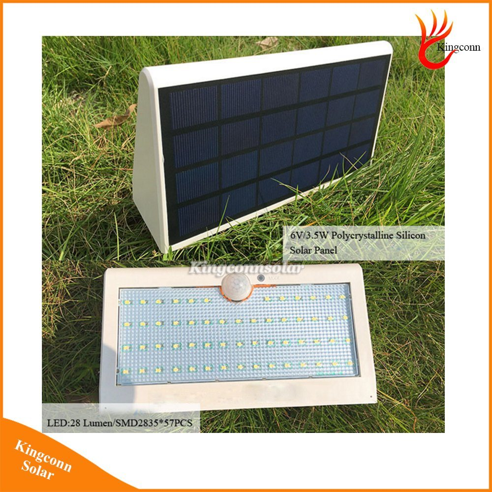New Solar Light 57LED Solar Outdoor Lamp Waterproof PIR Motion Sensor Solar Lamp for Garden Decoration pictures & photos
