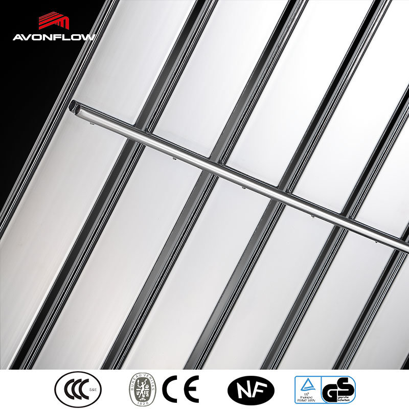 Avonflow Chrome Hot Water Central Heating Radiator