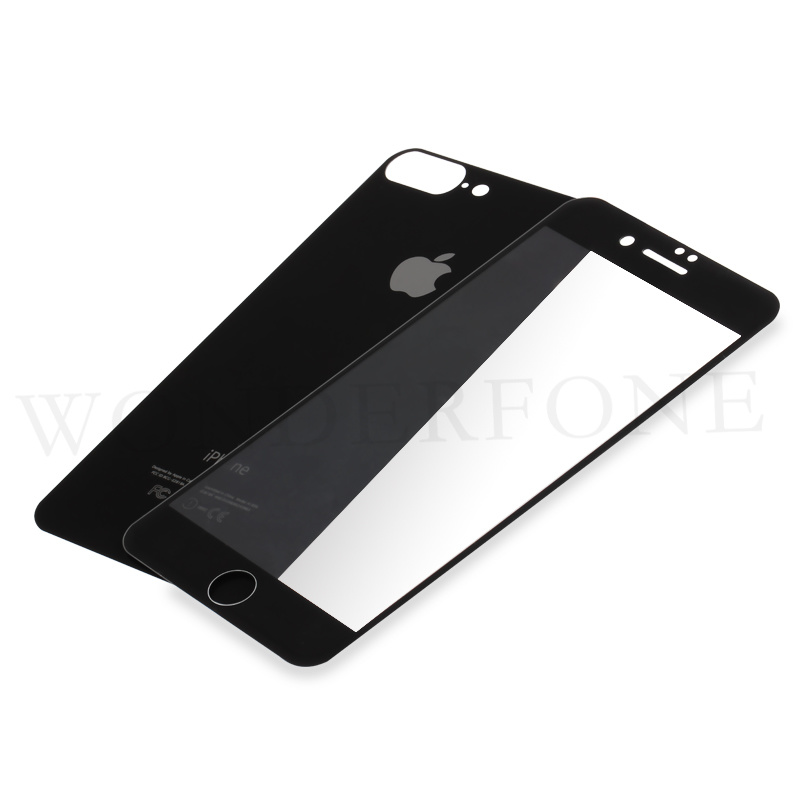 new styles 87c29 aae40 [Hot Item] Front and Back Tempered Glass Screen Protector for iPhone 7